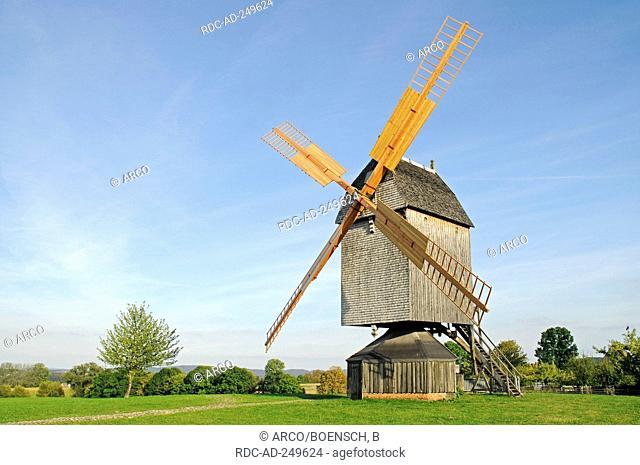 Post mill LWL-open-air museum Detmold North Rhine-Westphalia Germany