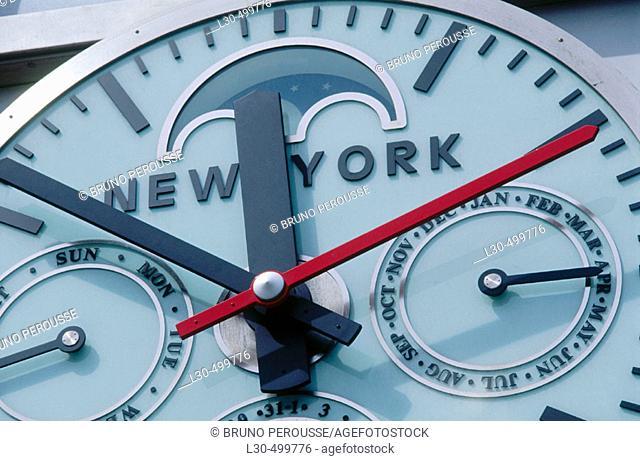 Time Warner building, Manhattan, NYC. USA