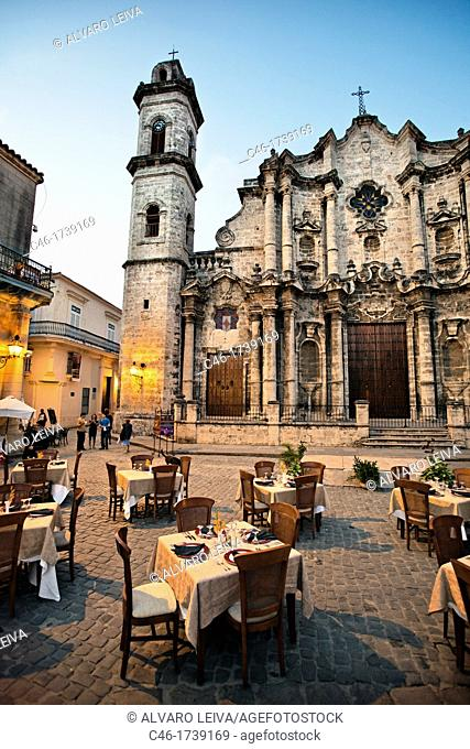 San Cristobal Cathedral  Havana Vieja District, Havana, Cuba