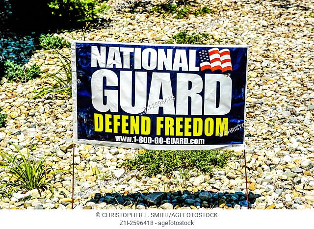 Join the National Guard Poster