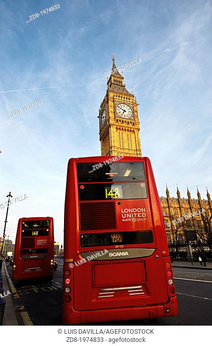 london red telephone box and big ben