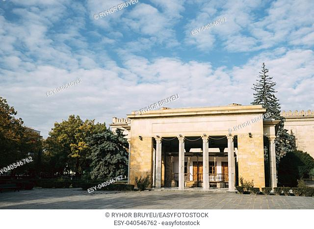 Gori, Shida Kartli Region, Georgia, Eurasia. Stalin Native House And Building Of Joseph Stalin Museum In Gori - Stalin's Homeland