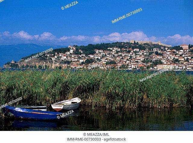 Ohrid, Ohrid lake and city, Republic of Macedonia, Europe