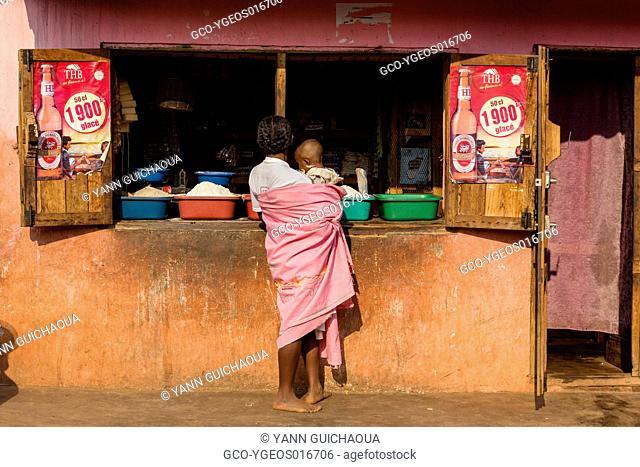 National 7,store in a village between Antsirabe and Fianarantsoa, Madagascar