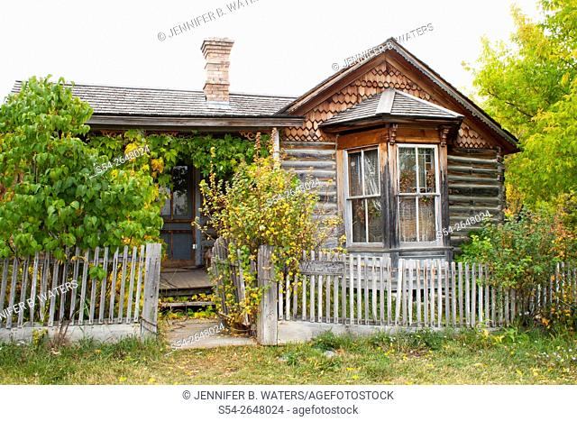 Nevada City, Montana reconstructed ghost town, USA