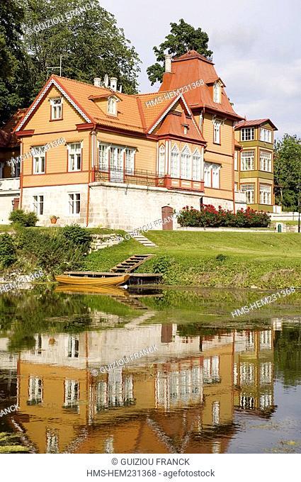 Estonia Baltic States, Saaremaa Island, Kuressaare Village, Lossi Hotel in the Castle estate