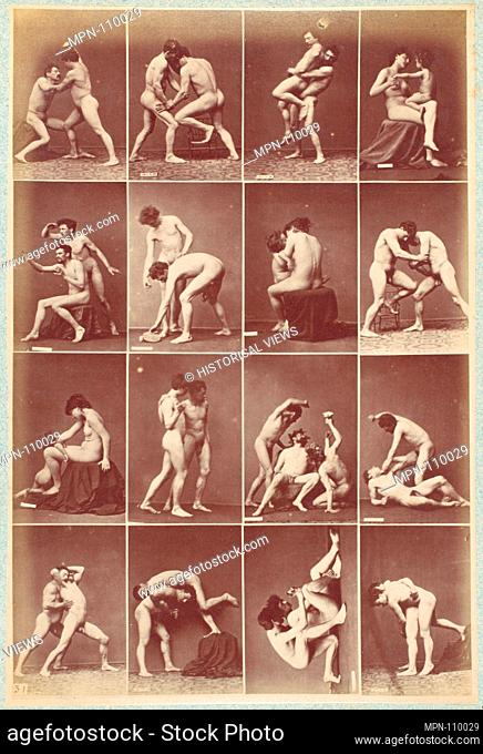 Album d'Études-Poses. Artist: Louis Igout (French, 1837-1881); Editor: A. Calavas (French); Date: ca. 1880; Medium: Albumen silver prints from glass negatives;...