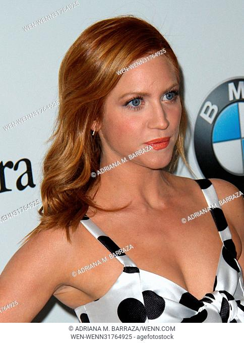 Women In Film 2017 Crystal + Lucy Awards held at The Beverly Hilton Hotel. Featuring: Brittany Snow Where: Los Angeles, California