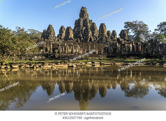 Khmer Tempelanlage Bayon, Angkor Thom, Kambodscha, Asien | Khmer temple Bayon, Angkor Thom, Cambodia, Asia