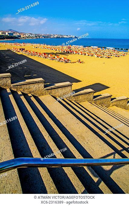 Playa del Inglés. Gran Canaria island