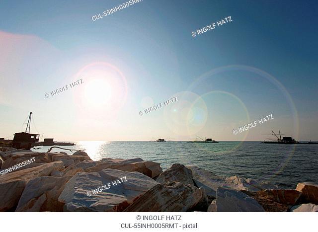 Coast, Lagune, Pisa, Tuscany, Italy