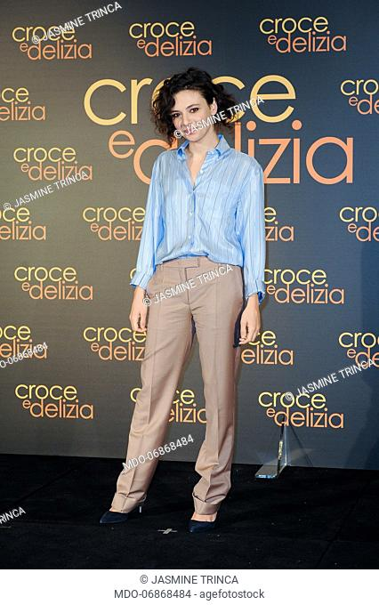 Italian actress Jasmine Trinca during Croce e Delizia photocall at the Hotel St.Regis. Rome, February 22th, 2019