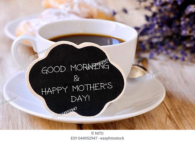 Good Morning Mom Stock Photos And Images Age Fotostock
