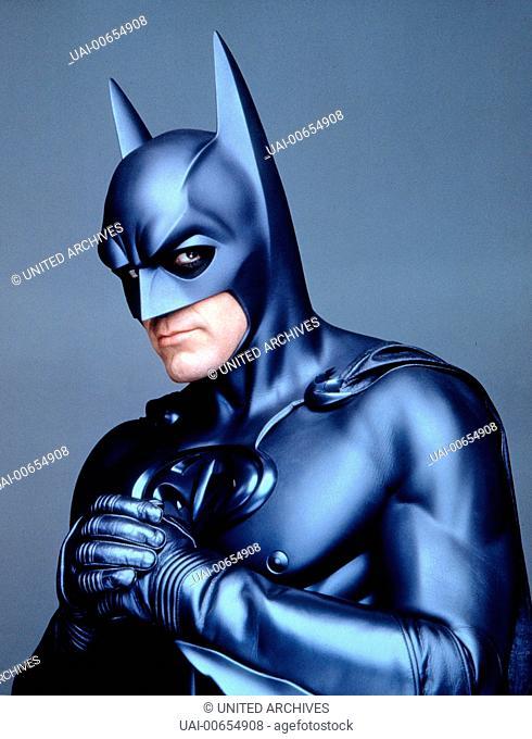 BATMAN & ROBIN / Batman & Robin USA 1997 / Joel Schumacher GEORGE CLOONEY (Batman), 'Batman & Robin', 1997. Regie: Joel Schumacher aka