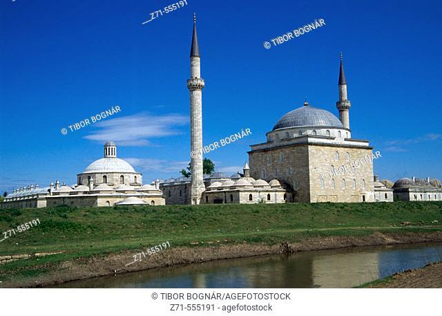 Beyazit Kulliyesi Mosque. Edirne,Turkey