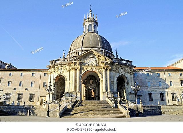 Basilica of Loyola, monastery, museum, Azpeitia, Gipuzkoa province, Pais Vasco, Basque country, Spain