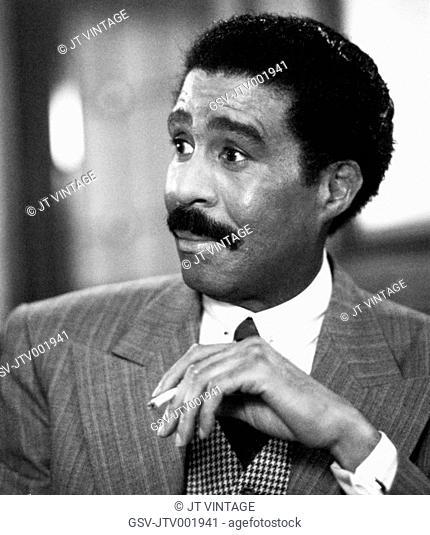 Richard Pryor on-set of the Film, Harlem Night, 1989