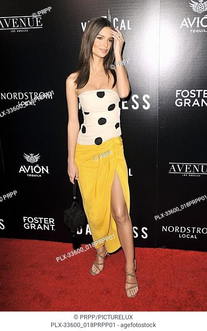 "Emily Ratajkowski at the """"In Darkness"""" Los Angeles Premiere held at the ArcLight Hollywood in Los Angeles, CA on Wednesday, May 23, 2018"