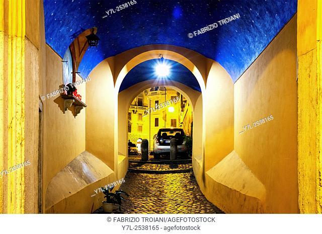Arco della Madonna dei Banchi, Rome, Italy