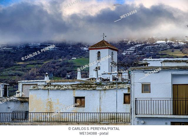 View of Capileira, La Alpujarra, Andalusia, Spain