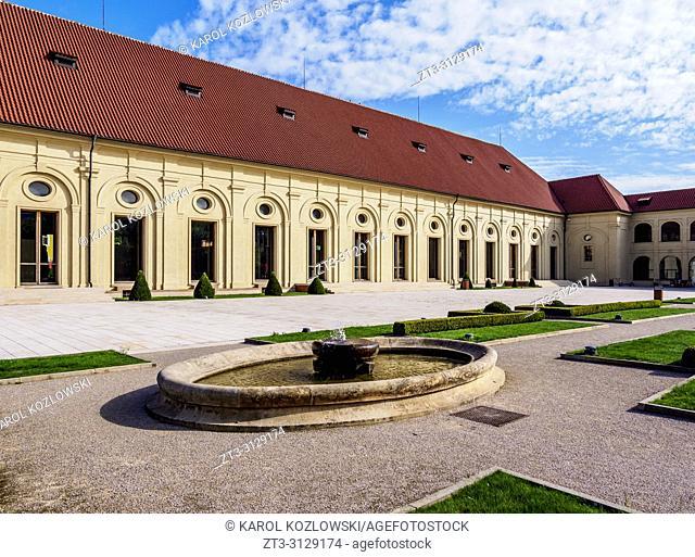 Prague Castle Riding School, Prague, Bohemia Region, Czech Republic