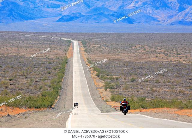 Death valley road, California, United States, USA
