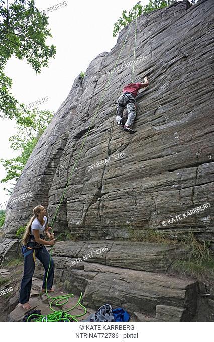Mountain climbers, Sweden