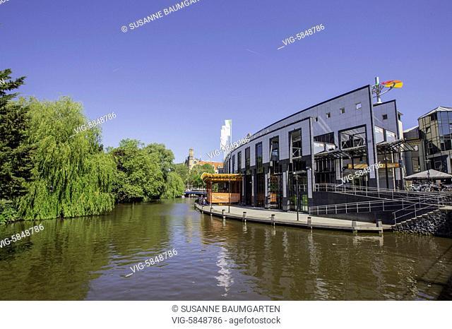 Amsterdam, Singelgracht, Holland Casino Amsterdam - AMSTERDAM, Netherlands, 27/05/2017