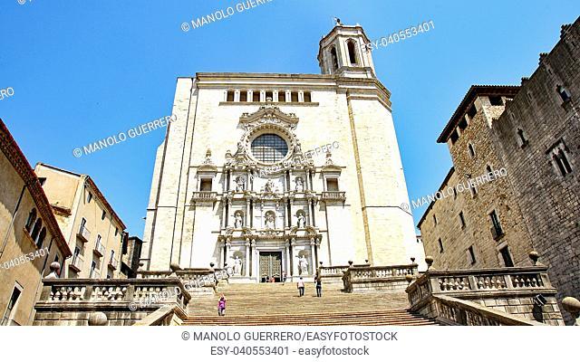 Cathedral of Girona, Catalunya, Spain