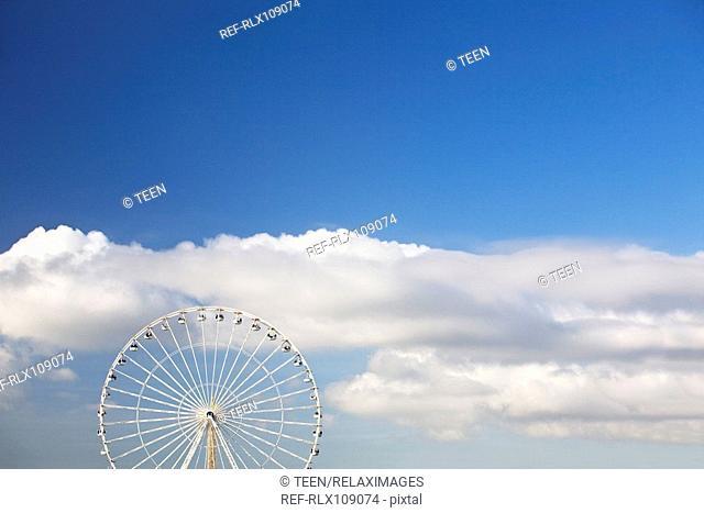 Ferris wheel on the Place de la Concorde, Paris, France