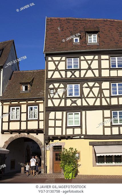 Architecture of Colmar, Haut-Rhin, Grand Est, France