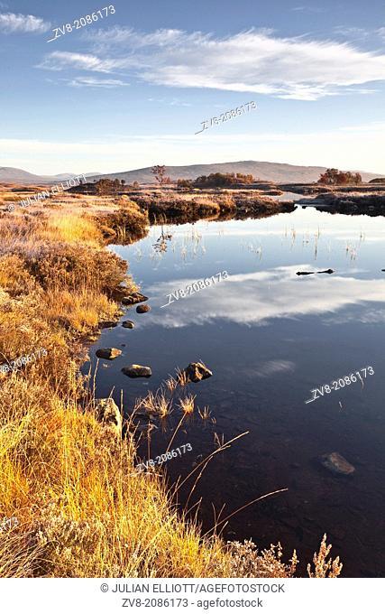 Loch Ba on Rannoch Moor in Scotland