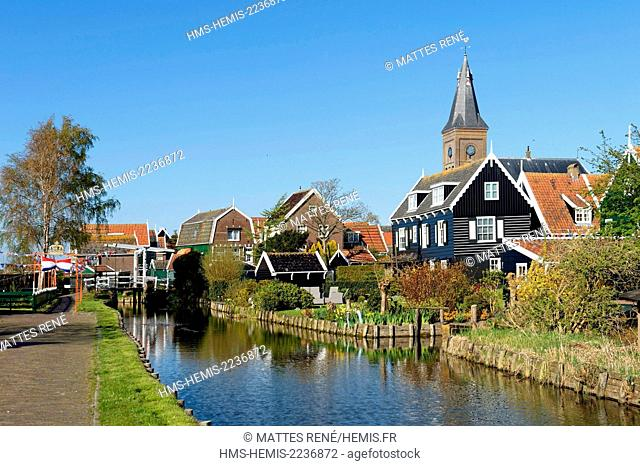 Netherlands, Northern Holland, Marken village