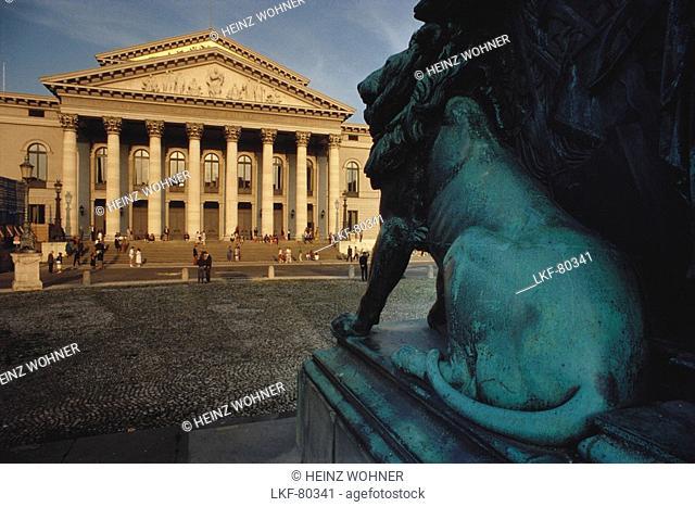 State Opera Munich, Bavaria, Germany, Europe