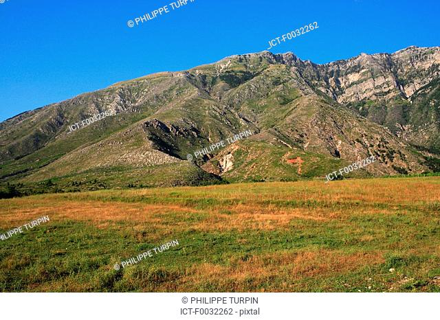 Albania, Vlore, moutains