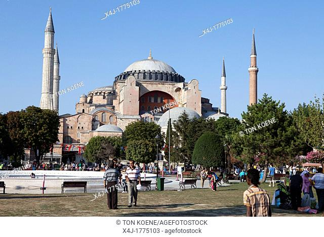 Hagia Sophia Aya Sophia in Istanbul