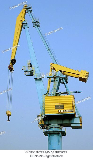 MAN Takraf crane