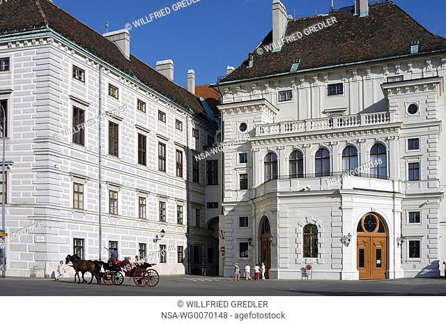 Presidential Chancellery Vienna Hofburg