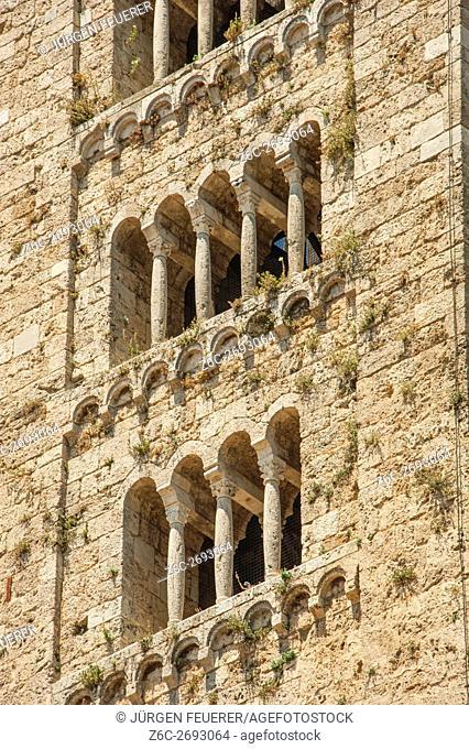Massa Marittima, buildings of the Renaissance, Tuscany, Italy