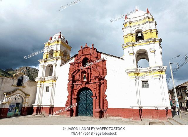 Iglesia Santo Domingo church in Huancavelica, Peru