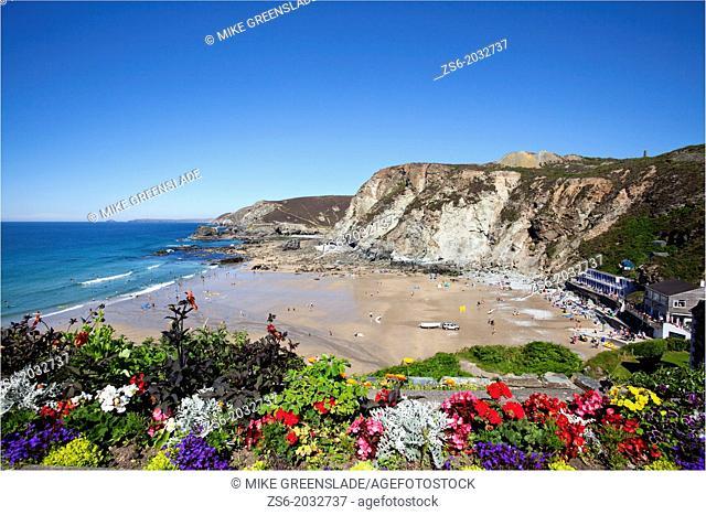 Trevaunance Cove, St Agnes, Cornwall, UK
