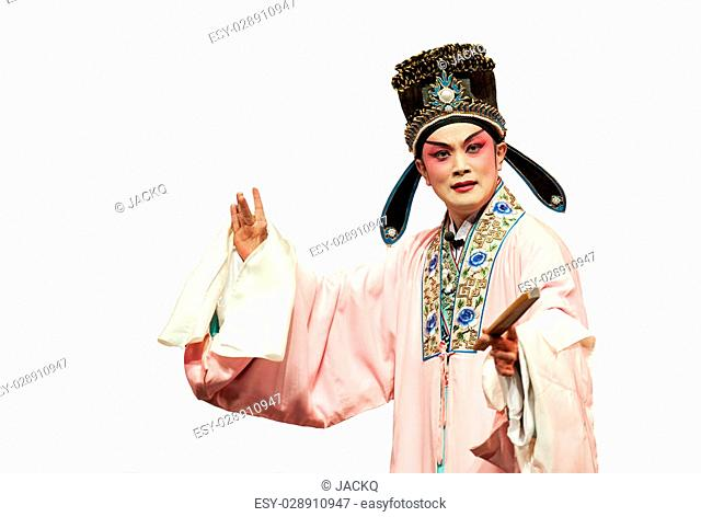 pretty chinese traditional opera actress