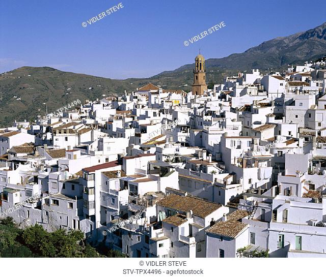 Andalusia, Blancos, Competa, Holiday, Landmark, Pueblos, Spain, Europe, Tourism, Travel, Vacation, Villages, White