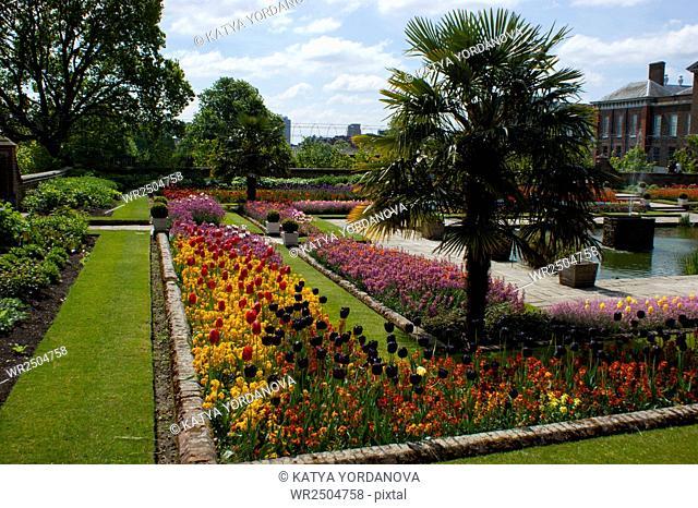 Kensington palace garden, London