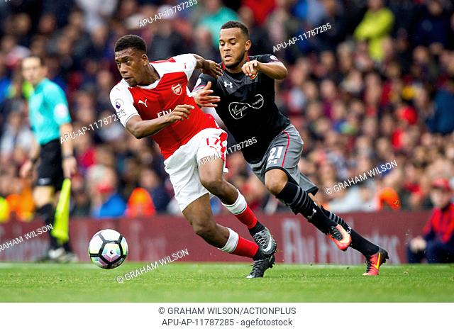 2016 Premier League Football Arsenal v Southampton Sep 10th. 10.09.2016. The Emirates, London, England. Premier League Football