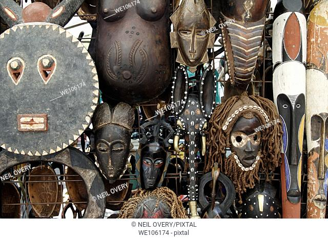 African Masks, Cape Town, South Africa