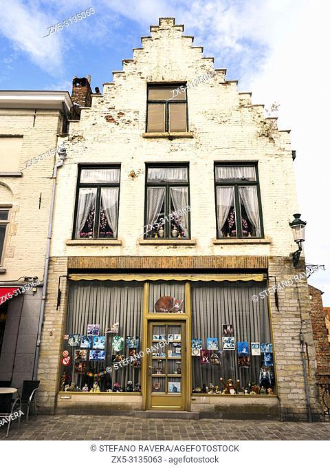 Ezelstraat - Bruges, Belgium