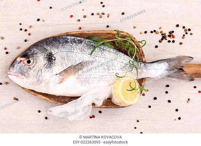 Luxurious fish background. Seafood