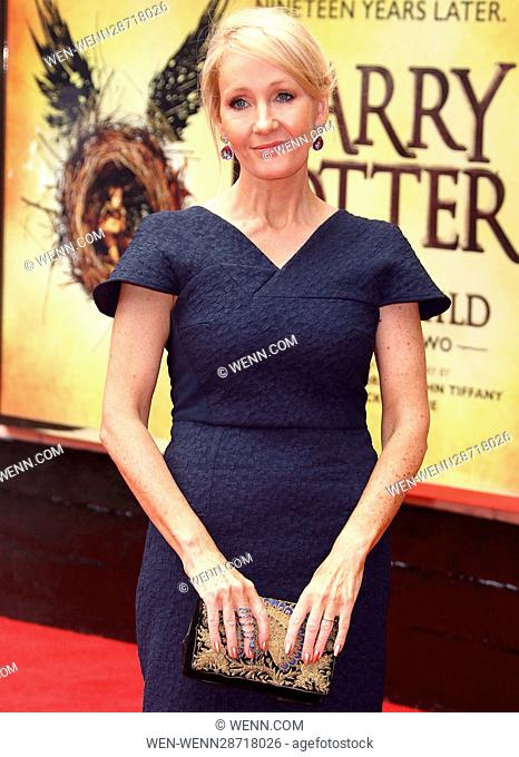 'Harry Potter and the Cursed Child' - Press Performance Featuring: JK Rowling Where: London, United Kingdom When: 30 Jul 2016 Credit: WENN.com
