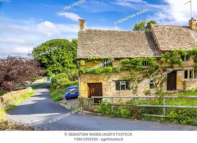 Snowshill village, Cotswolds, Gloucestershire, England, United Kingdom, Europe